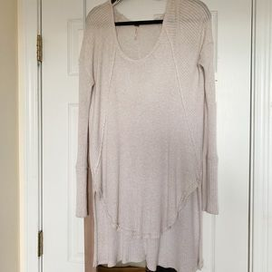 Free People Long Sleeve Flowy Shirt
